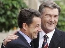 Ющенко после обеда отправится к Саркози