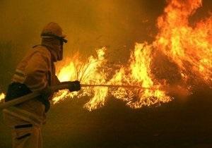 Житель Запорожской области из-за похолодания развел костер в собственном доме