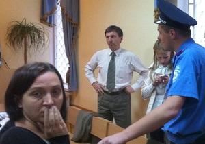 В здании суда, где идет заседание по делу Тимошенко, пропал свет