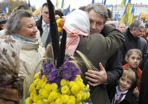 Опрос: У Ющенко стало больше сторонников
