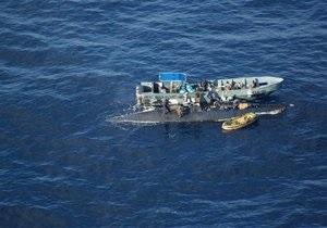 У берегов Гватемалы задержали подлодку с пятью тоннами кокаина