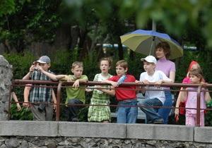 В Киевском зоопарке экологи проводят проверки