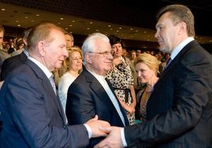 Кравчук увидел сходство между Кучмой, Ющенко и Януковичем