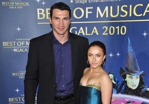 Кличко со своей подругой посетил премьеру фильма в Лос-Анджелесе
