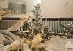 Фотогалерея: Взрыв в Апреле. Чрезвычайное происшествие в ресторане в центре Киева