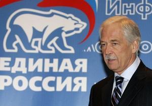 Грызлов: Мы связываем с инаугурацией Януковича перспективы дальнейшего развития Украины
