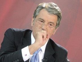 Ющенко подписал закон о защите населения от инфекционных болезней