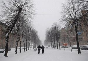 Сегодня в Украине на дорогах гололедица