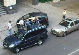 Мэр Днепропетровска попал в аварию