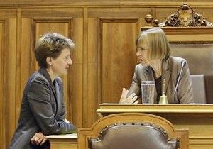 В правительстве Швейцарии впервые в истории большинство составили женщины