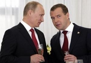 Путин: Перераспределение полномочий в тандеме укрепит власть в России