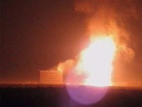 В Подмосковье в результате ДТП возник пожар на газопроводе
