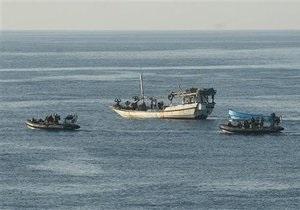 Украина отправляет офицера ВМС для участия в антипиратской операции Евросоюза