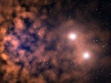 В космосе обнаружена гантель из звезд