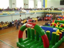 Украинские школьники увлеклись Играми Чемпионов