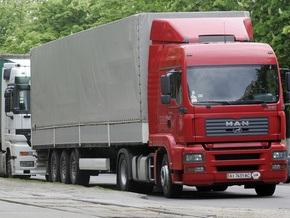 Киевские власти запретили грузовикам ездить по городу