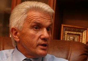 Литвин: Порядок избрания спикера находится вне компетенции КС