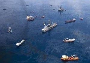BP оценила объем утечки нефти в 100 тысяч баррелей в день