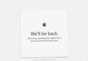 В день смерти Стива Джобса Apple Store закрылся для обновления