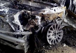 В Винницкой области столкнулись BMW с грузовиком, два человека погибли