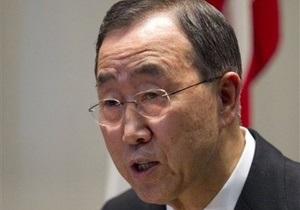 Генсек ООН: Военного решения сирийской проблемы не существует
