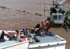 Из-за наводнения в Мозамбике эвакуируют 55 тысяч человек