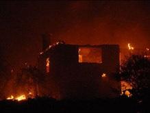 В Анталье бушуют сильные лесные пожары