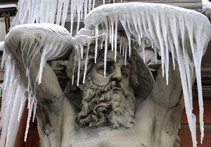 МЧС призывает киевлян ограничить передвижение по городу из-за похолодания