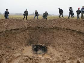 СМИ: В Латвии упал метеорит