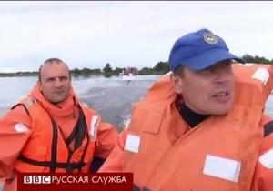 Россия - Эвакуация людей в Амурской области
