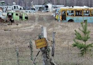 В Чернобыльской зоне на этой неделе дважды возникал пожар