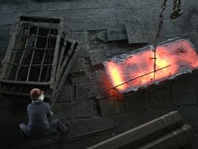 В Украине вдвое сократилось металлопроизводство