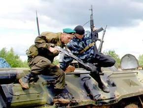 НГ: На границе России и Украины заговорил калашников