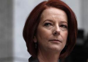 Австралия - Первая женщина-премьер в истории Астралии может покинуть свой пост