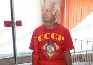 В Запорожье несколько сотен пенсионеров намеревались  остановить фашизм