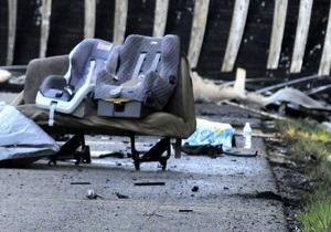 В Грузии микроавтобус сорвался в пропасть, семь человек погибли