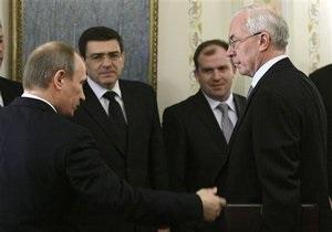 Путин рассказал Азарову о шансах вернуться  на прежние позиции