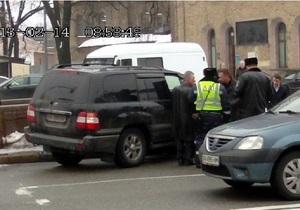 Омельченко рассказал об утреннем инциденте с участием его джипа