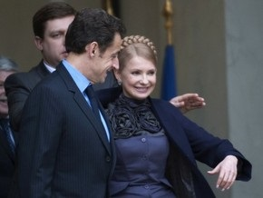 Однопартийцы Саркози опровергли заявление о поддержке Тимошенко на выборах