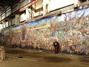 Украинский художник рассказал о работе над самым масштабным полотном в мире