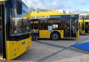 В Киеве временно изменили маршрут нескольких автобусов