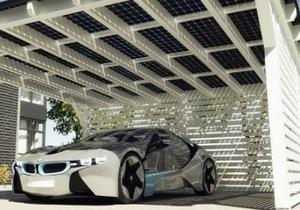 Электрокары BMW смогут ездить на солнечной энергии