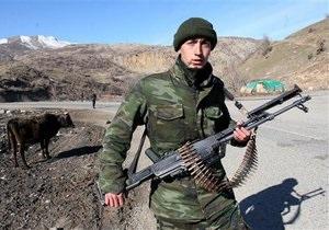 СМИ: Турецкие войска проводят учения на границе с Сирией