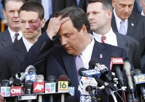 Губернатор Нью-Джерси сделал операцию, чтобы похудеть