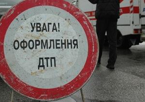 В Киеве гаишники попали в ДТП