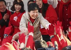 Корреспондент: Мисс Тэтчер из Сеула. Первая женщина - президент Южной Кореи
