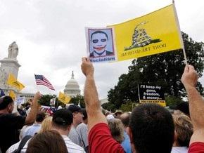 В Вашингтоне прошла многотысячная демонстрация против Обамы