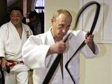 Путин презентовал фильм о дзюдо
