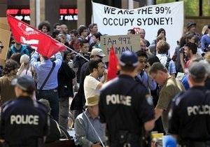 Австралийская полиция разогнала акцию Захвати Мельбурн