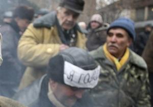 5 канал сообщил о смерти еще одного протестующего чернобыльца в Донецке
